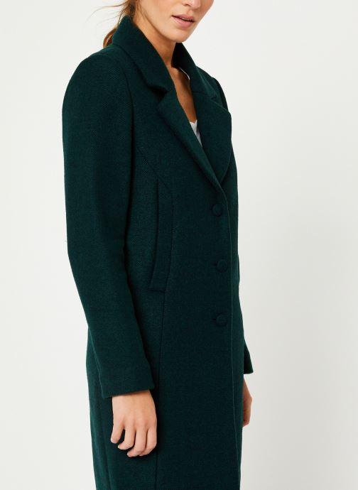 Vêtements I.Code Manteau Vert Imperial QP44054 Vert vue droite