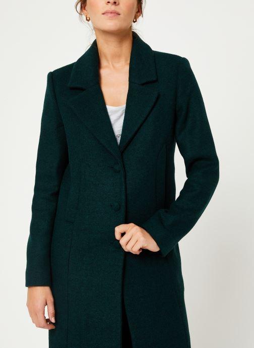 Vêtements I.Code Manteau Vert Imperial QP44054 Vert vue détail/paire