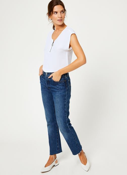 Vêtements IKKS Women Top Zip BP11005 Blanc vue bas / vue portée sac