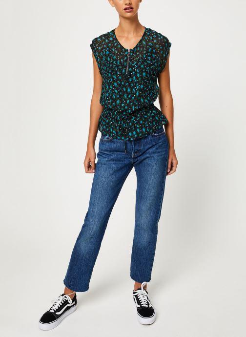 Vêtements IKKS Women Top Lien Taille BP11015 Vert vue bas / vue portée sac