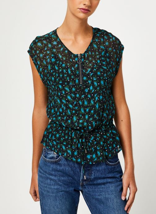 Vêtements IKKS Women Top Lien Taille BP11015 Vert vue droite