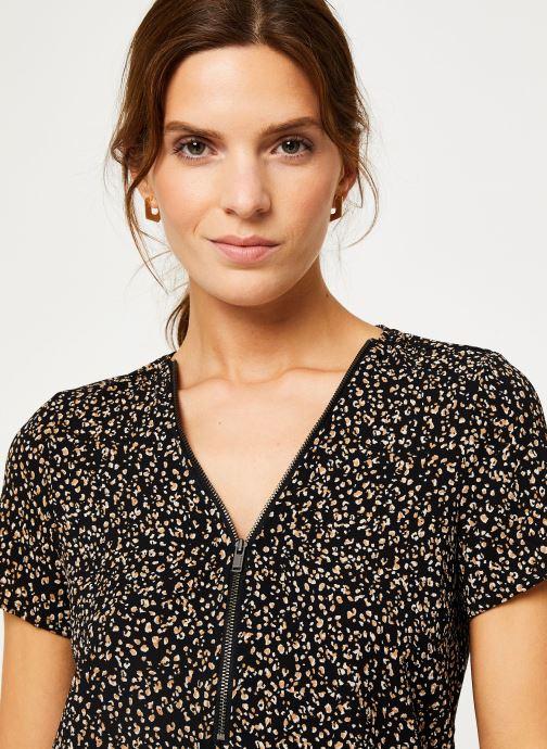 Vêtements IKKS Women Top léopard BP11065 Noir vue face