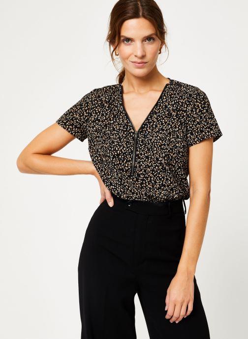 Vêtements IKKS Women Top léopard BP11065 Noir vue droite