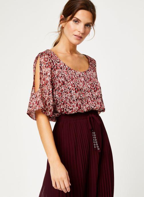 Vêtements IKKS Women Top Mandarine BP11165 Orange vue détail/paire