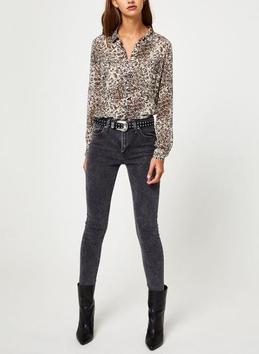 Vêtements IKKS Women Chemise leopard BP12075 Beige vue bas / vue portée sac