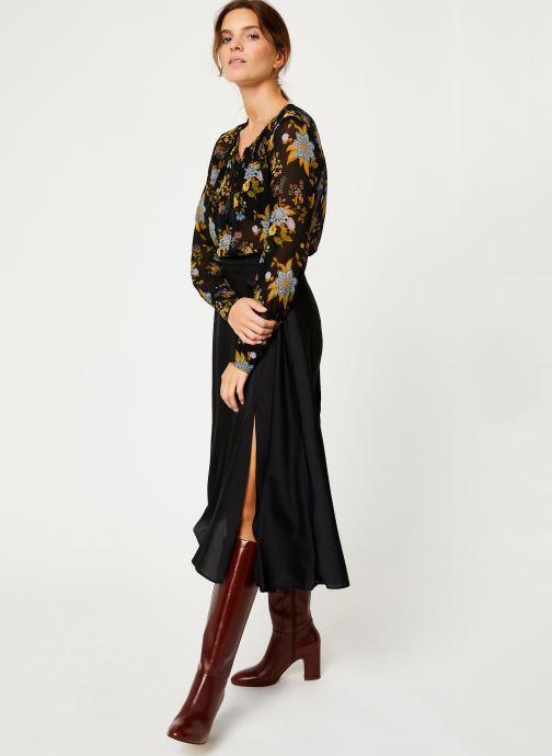 Vêtements IKKS Women Blouse Frida Kahlo BP13125 Noir vue bas / vue portée sac