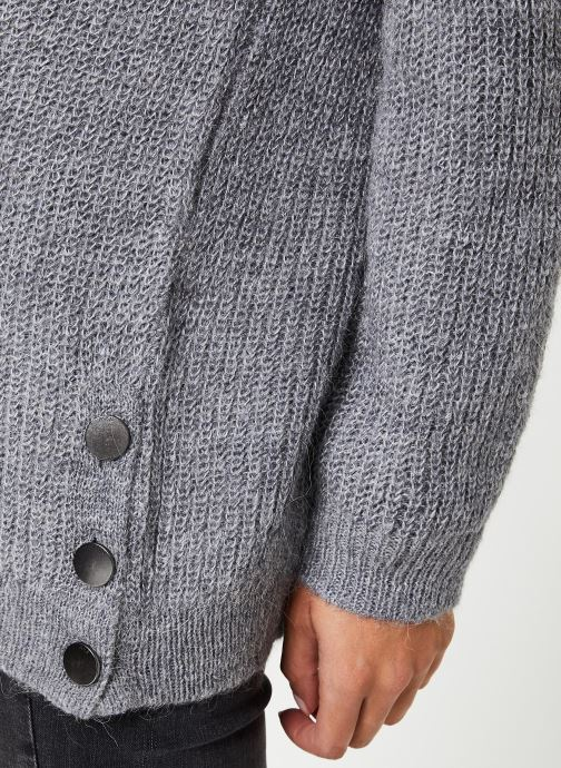 Vêtements IKKS Women Cardigan Gris BP17065 Gris vue face