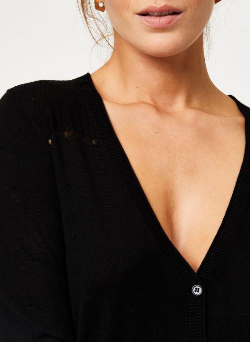 Vêtements IKKS Women Cardigan Boutons BP17095 Noir vue face