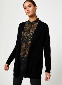 Vêtements Accessoires Cardigan Noir Long Ceinture BP17125