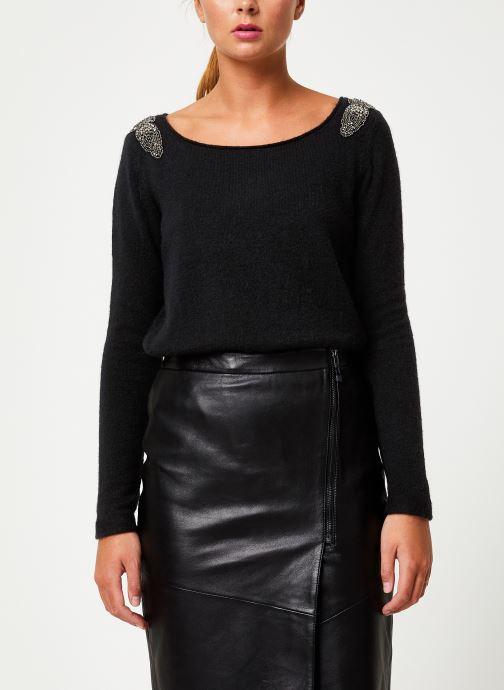 Vêtements IKKS Women Pull Bijou Noir BP18155 Noir vue détail/paire