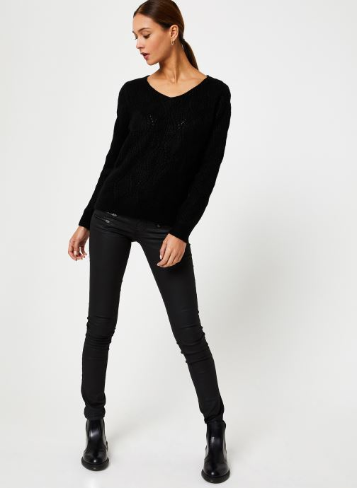 Vêtements IKKS Women Pull BP18185 Noir vue bas / vue portée sac