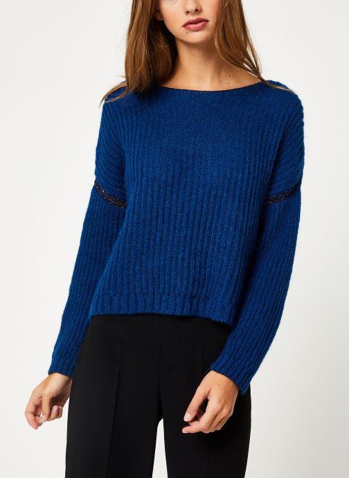 Vêtements IKKS Women Pull Bleu Cobalt BP18345 Bleu vue détail/paire