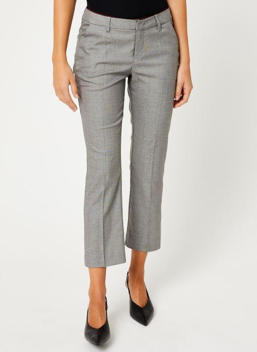 Vêtements IKKS Women Pantalon Fil À Fil BP22035 Gris vue détail/paire