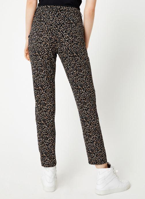 Vêtements IKKS Women Pantalon Imprimée BP22055 Noir vue portées chaussures