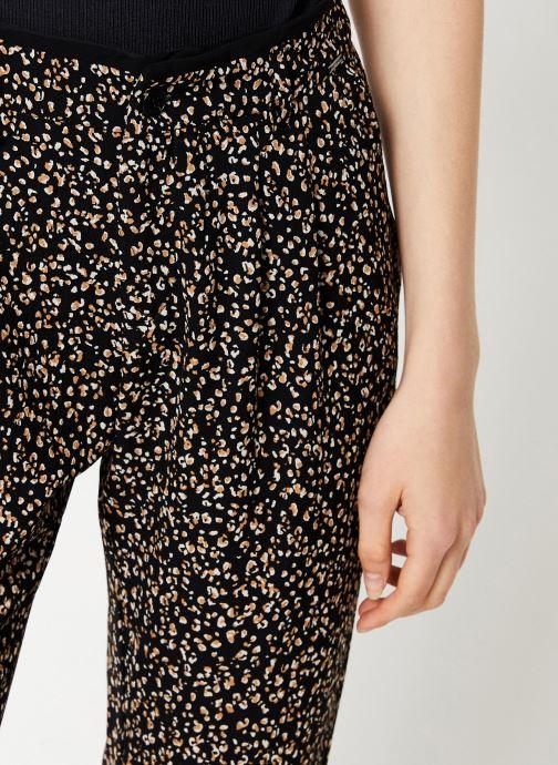 Vêtements IKKS Women Pantalon Imprimée BP22055 Noir vue face