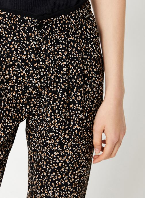 Kleding IKKS Women Pantalon Imprimée BP22055 Zwart voorkant