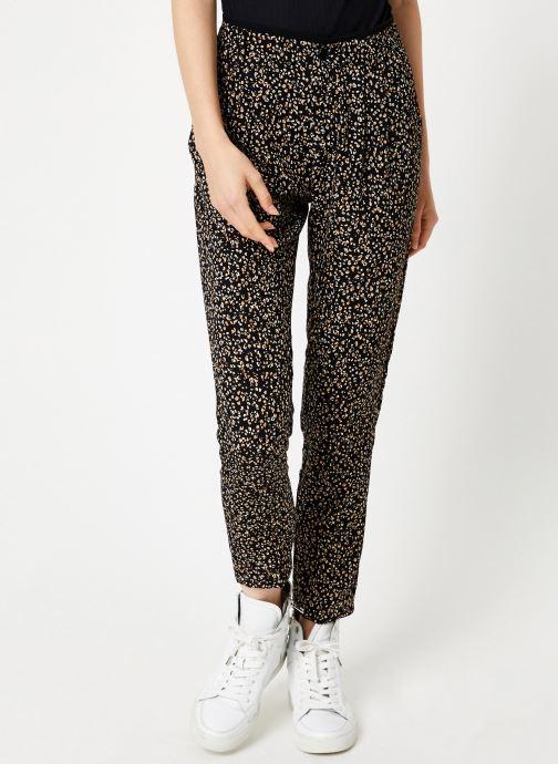 Vêtements IKKS Women Pantalon Imprimée BP22055 Noir vue détail/paire