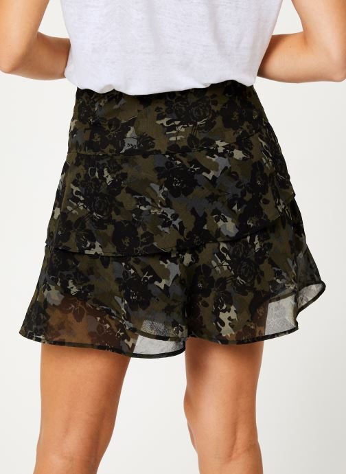 Kleding IKKS Women Jupe Camouflage Mi-Cuisse BP27055 Groen model
