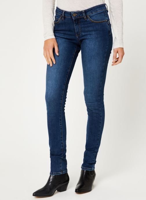 Vêtements IKKS Women Jean Denim Slim Sculpt Up BP29005 Bleu vue détail/paire