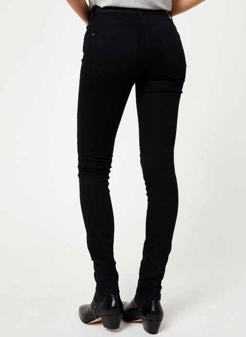 Vêtements IKKS Women Jean Denim Slim Sculpt UpBP29125 Noir vue portées chaussures