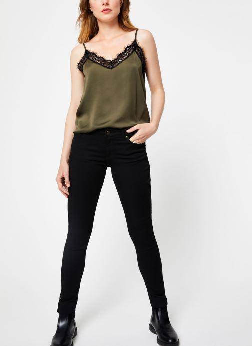 Vêtements IKKS Women Jean Denim Slim BP29145 Noir vue bas / vue portée sac