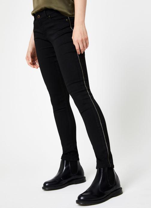 Vêtements IKKS Women Jean Denim Slim BP29145 Noir vue détail/paire