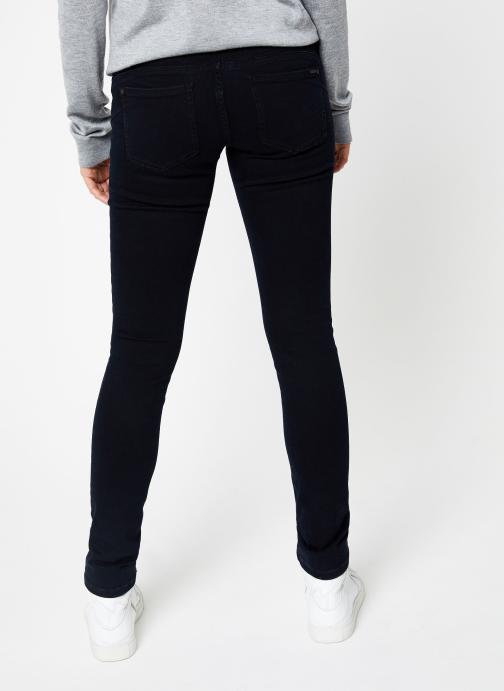 Vêtements IKKS Women Jean Denim scult up BP29175 Bleu vue portées chaussures