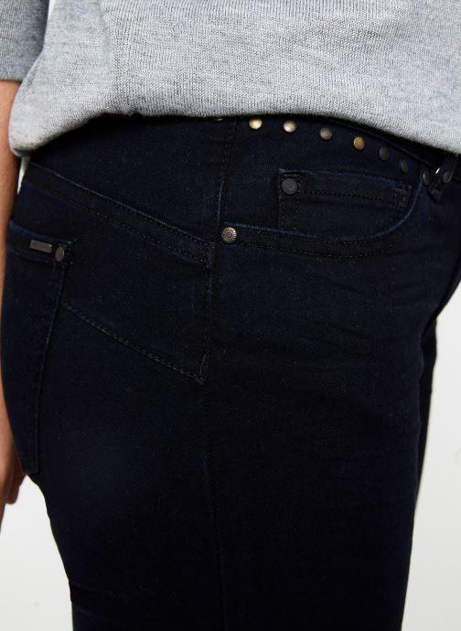 Vêtements IKKS Women Jean Denim scult up BP29175 Bleu vue face