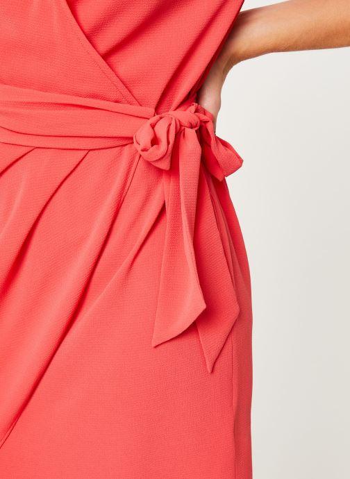 Vêtements IKKS Women Robe Dessus Genoux Fraise BP30075 Rouge vue face