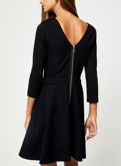 Vêtements IKKS Women Robe Structuree BP30145 Noir vue portées chaussures