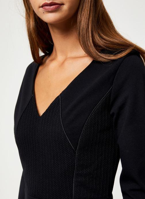 Vêtements IKKS Women Robe Structuree BP30145 Noir vue face
