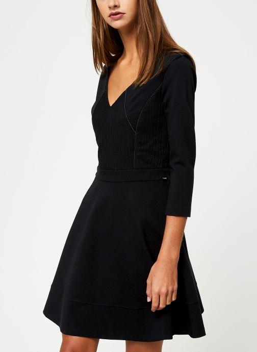Vêtements IKKS Women Robe Structuree BP30145 Noir vue droite