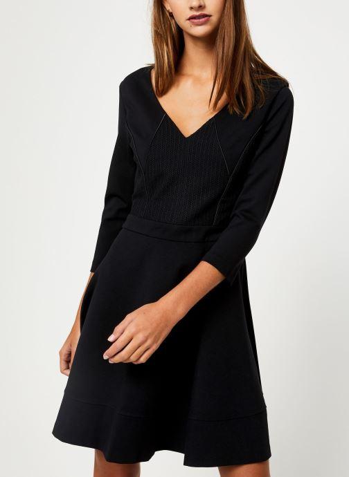 Vêtements IKKS Women Robe Structuree BP30145 Noir vue détail/paire