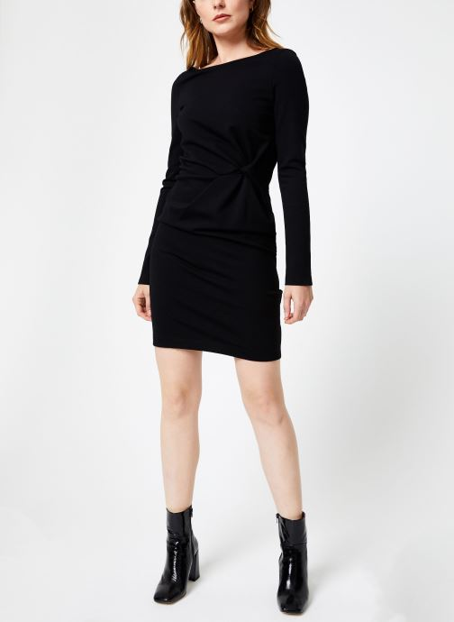 Vêtements IKKS Women Robe Nouee BP30155 Noir vue bas / vue portée sac
