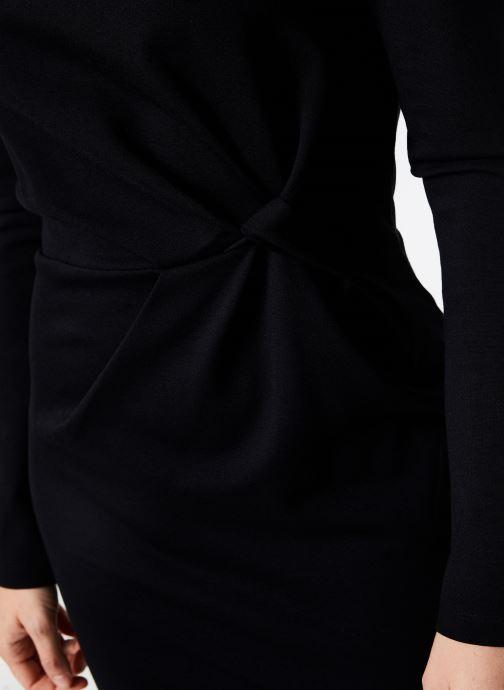 Vêtements IKKS Women Robe Nouee BP30155 Noir vue face