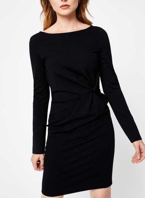 Vêtements IKKS Women Robe Nouee BP30155 Noir vue droite