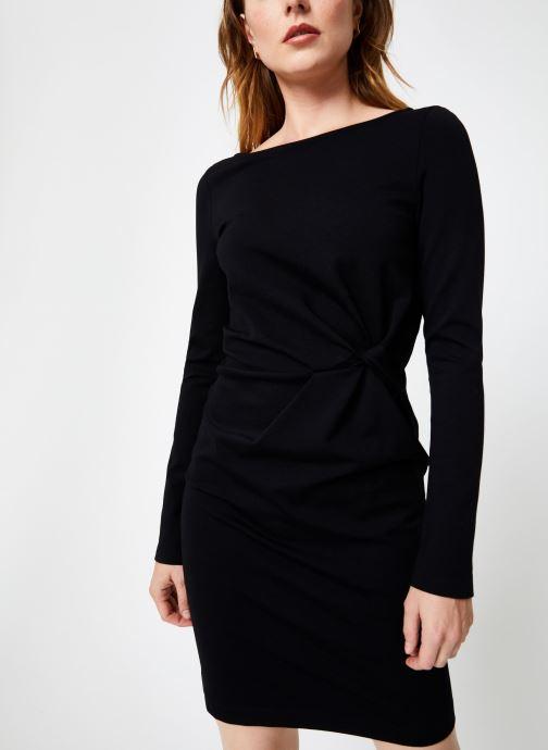 Vêtements IKKS Women Robe Nouee BP30155 Noir vue détail/paire