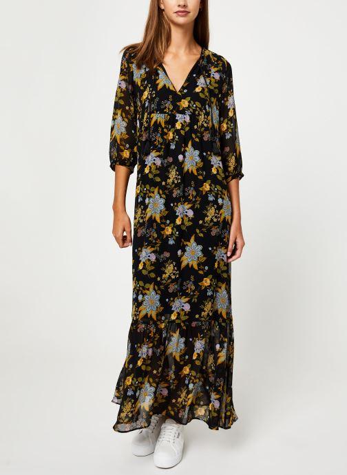 Vêtements IKKS Women Robe Longue Frida Khalo BP30195 Noir vue bas / vue portée sac