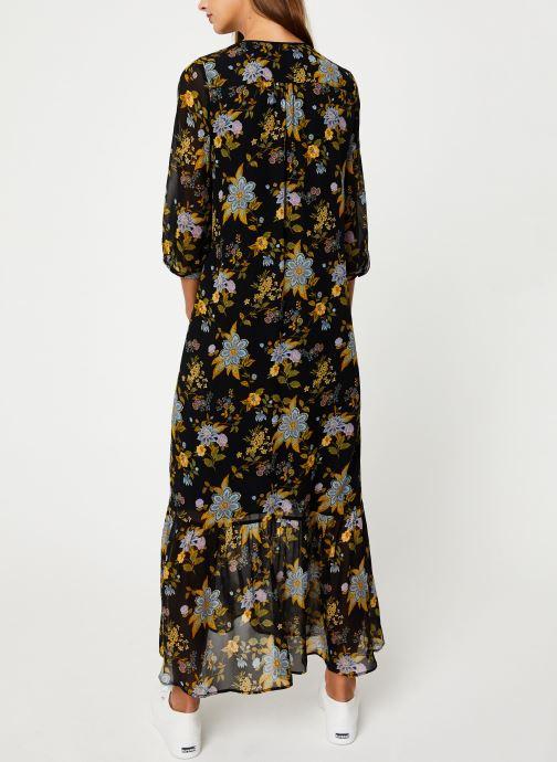 Vêtements IKKS Women Robe Longue Frida Khalo BP30195 Noir vue portées chaussures