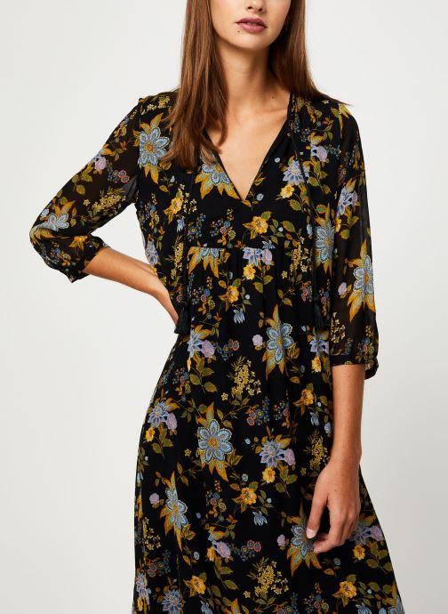 Vêtements IKKS Women Robe Longue Frida Khalo BP30195 Noir vue détail/paire
