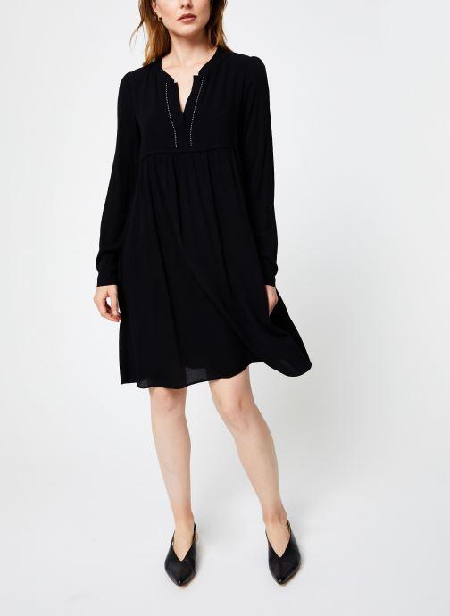 Vêtements IKKS Women Robe ML Noire BP30275 Noir vue bas / vue portée sac