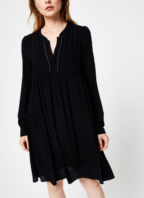Vêtements IKKS Women Robe ML Noire BP30275 Noir vue droite