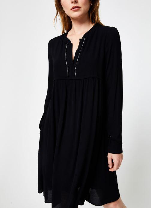 Vêtements IKKS Women Robe ML Noire BP30275 Noir vue détail/paire