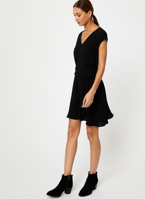 Vêtements IKKS Women Robe Drapée BP30285 Noir vue bas / vue portée sac
