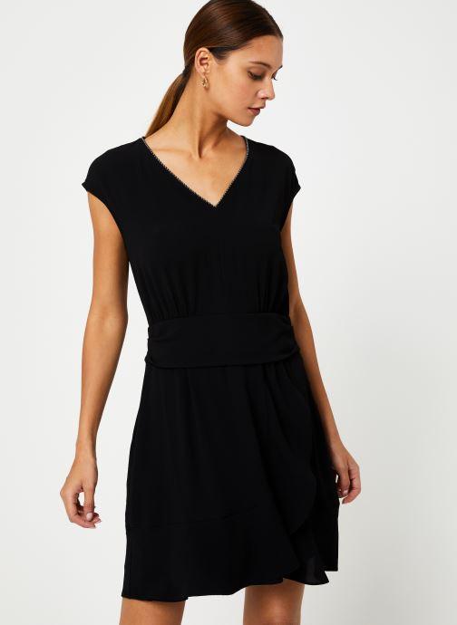 Vêtements IKKS Women Robe Drapée BP30285 Noir vue droite