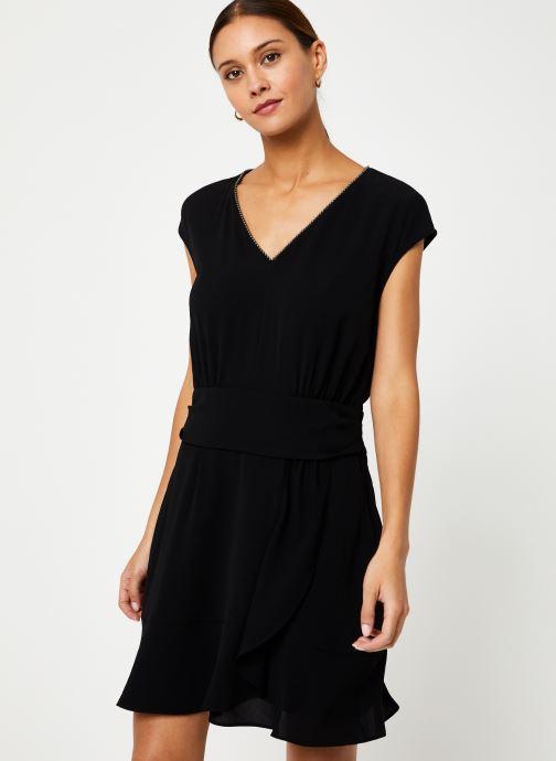 Vêtements IKKS Women Robe Drapée BP30285 Noir vue détail/paire