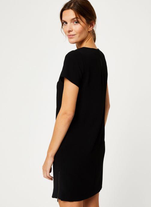 Vêtements IKKS Women Robe Stud BP30375 Noir vue portées chaussures