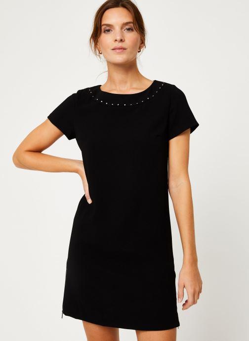 Vêtements IKKS Women Robe Stud BP30375 Noir vue détail/paire