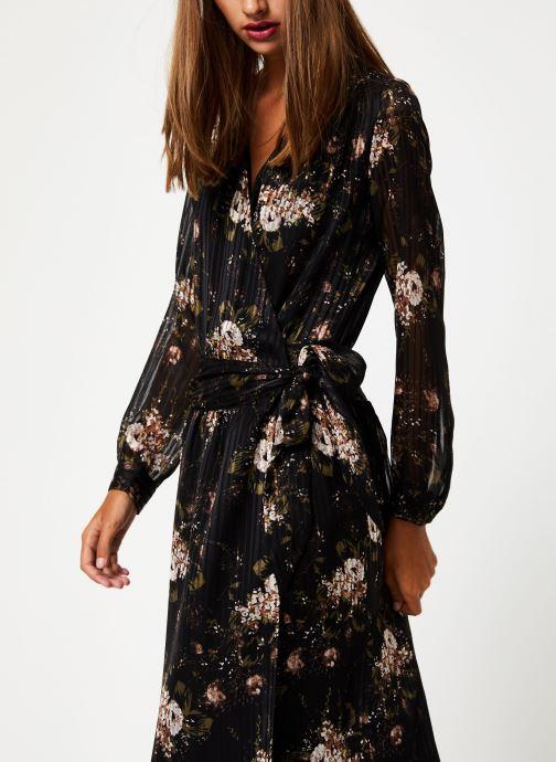 Vêtements IKKS Women Robe Longue Fleur BP30435 Noir vue droite
