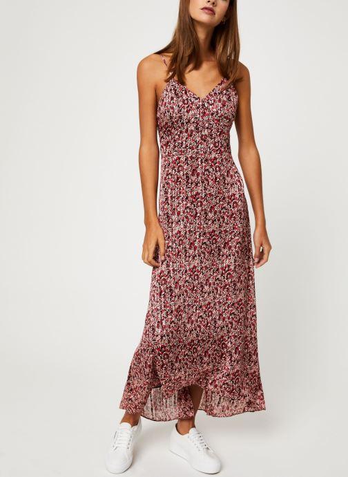 Vêtements IKKS Women Robe Longue Imprimée BP30515 Rouge vue bas / vue portée sac